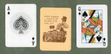 "Collectable Vintage Advertising playing cards  Raffles ""original"" Hotel."